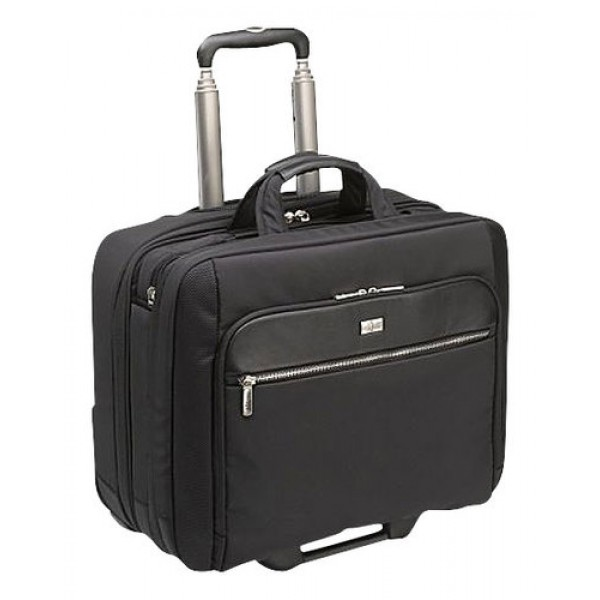 Geniune Targus TBR003US-72 16-inch Rolling Laptop Case (Black) - Slightly Used