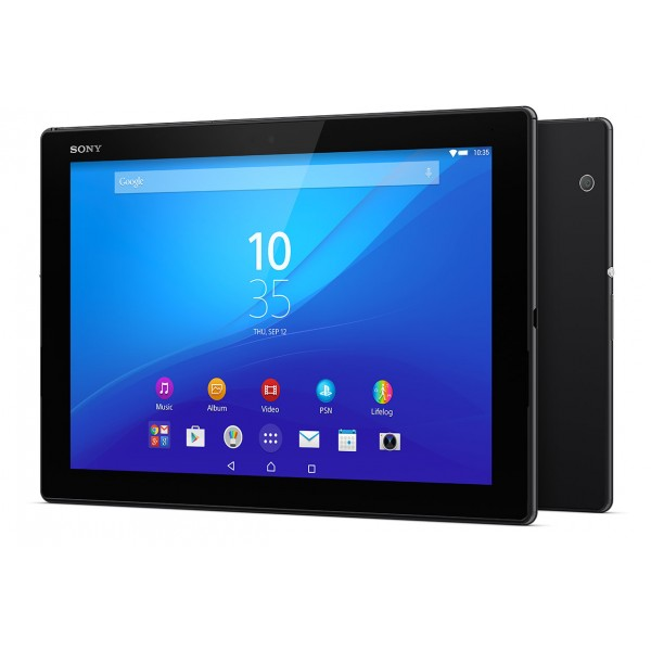 Sony Xperia Z4 Tab 10.1 With Box & Original Chrger With Tablet Book Cover